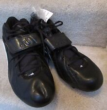 Adidas Quickslant Detatch  Mens Football Cleats Shoes Size 12.5 Black 351876 NWT