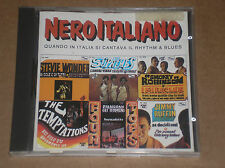 NERO ITALIANO (STEVIE WONDER, TEMPTATIONS, SMOKEY ROBINSON) - RARO CD