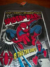 Your Friendly Neighborhood SPIDER-MAN T-Shirt MEDIUM NEW w/ TAG  Marvel Comics