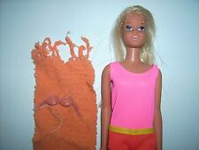 #1068 Francie Sun Set Malibu doll 1971-77 Blonde Japan Casey head Vtg Barbie