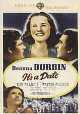Deanna Durbin, Kay Francis, IT'S A DATE, 1940 ~ brand new DVD
