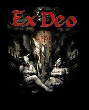 EX DEO cd lgo Caligvla BULL SKULLS Official SHIRT XXL 2X New kataklysm