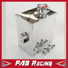 UNIVERSAL 2.5L ALUMINUM COOLANT OVERFLOW TANK WATER BOTTLE FOR NISSAN PATROL