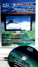 Serenity: Southern Seas NEW!  DVD HD,RELAXATION MUSIC HD SEASCAPES OCEANS SUNSET