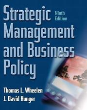 Strategic Management and Business Policy, Ninth Edition, Hunger, David, Hunger,