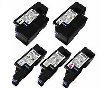 5PK Dell 1250c 1350cnw 1355cnw C1760NW C1765NF C1765NFW Replacement Toner Set
