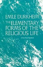 The Elementary Forms of the Religious Life Emile Durkheim Paperback