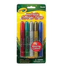 Crayola Washable Glitter Glue 5 ea