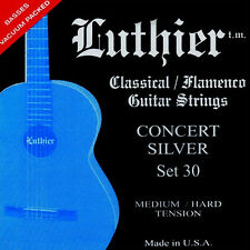 Luthier Set 30 Flamenco Guitar String /medium hard tension/