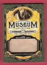 1920'S MEN'S OPERA SCARF RELIC CARD 2015 GOODWIN CHAMPIONS MUSEUM COLLECTION
