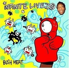 Infinite Livez - Bush Meat (CD, 2004, Big Dada) RARE/OOP Music Album