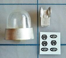 1/18 Gumball Light w/ Round Lens & Sloped Base For Model Police Cars - #1805