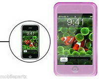 Pink Silicone / Gel Case Skin Cover for the Apple iPhone 3G & 3GS