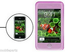 Rosa De Silicona / gel Funda Skin Cover Para Apple Iphone 3g Y 3gs