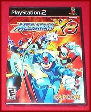 Mega Man X8 for the Sony Playstation 2 PS2 System NEW SEALED