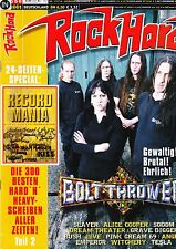 Magazin Rock Hard 175/2001,