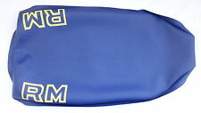 Suzuki RM125 RM250 replica seat cover,fully tailored. 1981 1982 1983 EVO/Vintage