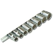 "1/2"" inch Drive Bi-Hex Whitworth Socket Set Classic Car, Motorcycle, Garage Tool"