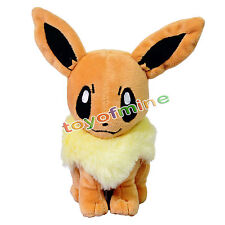 "Pokemon Pocket Monster Eevee Plush Toys Soft Stuffed Doll 7"" /18cm"