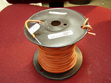 Test Lead Wire, silicone jacket 18 AWG, 100 Ft spool Reddish brown free shipping