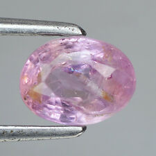 1.50CTS CEYLON MINES 100%UNTREATED/UNHEATED PINK NATURAL SAPPHIRE OVAL GEMSTONES