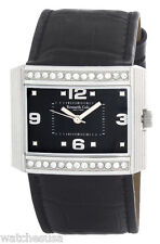 Kenneth Cole New York Mens Black Dial Black Leather Strap Watch KC2278