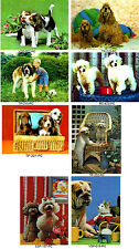 Cute Dog Postcard Collection 8 Vintage Cards 3D Lenticular #8-DOG2-PC#