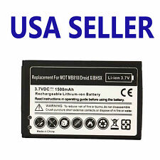 NEW BATTERY FOR MOTOROLA BH5X DROID X X2 VERIZON