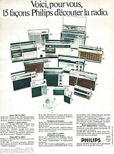 PUBLICITE ADVERTISING 085  1971  PHILIPS   la gamme de transistors