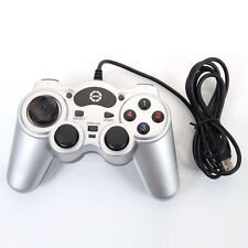 USB 2.0 Wired Shock Computer Gamepad Game Controller Joystick for Desktop L
