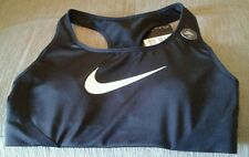 BNWT Nike pro Dri fit sport  training gym crop top bra xs Black