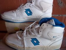 80,S VINTAGE LOTTO PLAYOFF HI TOPS SZ 11,5 BASKETBALL