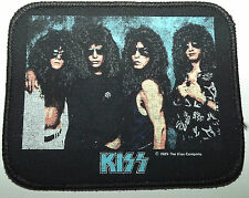 KISS Original Vintage 1989 Printed Sew On Patch