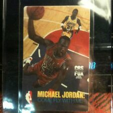 "Michael Jordan ""Come Fly With Me"" Card;RARE;NBA;Oddball"