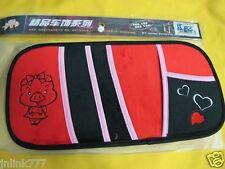 A30:New Kaluka Car Truck SUV Sun Visor Organizer/Holder-Red Miss Piggy