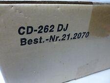 Img Stage Line dual cd-262 DJ doble CD Player 21.2070 262 nuevo embalaje original