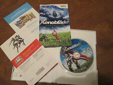 Xenoblade Chronicles Nintendo Wii VIDEOGAME COMPLETE EXCELLENT  RARE