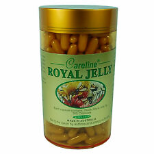 Careline Royal Jelly 1000mg 365 Capsules Royaljelly 10HDA