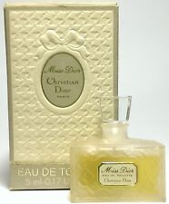 CHRISTIAN DIOR MISS DIOR EDT 5ml/0.17oz Womens Miniature Bottle Perfume Box