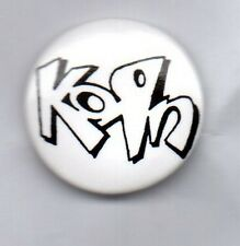 KORN  BUTTON BADGE - AMERICAN NU METAL BAND - UNTOUCHABLES - ISSUES