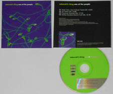 Adamski's Thing - One Of The People (2 Edits/2 Mixes) - Promo CD In Jewel Case