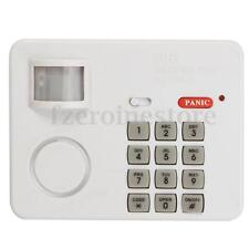 PIR Wireless Motion Sensor Alarm Door Security Keypad For Home Carport Burglar