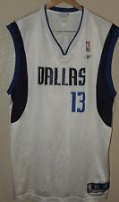 Steve Nash Dallas Mavericks NBA Reebok White Jersey Mens Size XL