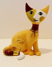 "ROSINA WACHTMEISTER / GOEBEL CATS  ""CAMILLA ""  , #220-056 THE COFFEE LATTE CAT"