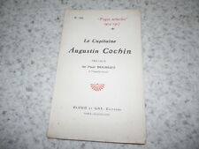 1917.Le capitaine Augustin Cochin.14-18.Paul Bourget