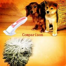 Electric Pet Dog Cat Hair Razor Grooming Clipper Animal Low-noise Trimmer Tool