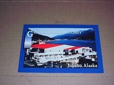 Salmon Hatchery Fish Farm Alaska Juneau Gasyimeau Channel Mountain mt Robert's