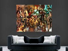 COMIC BOOK SUPERHEROES  GIANT WALL POSTER ART  PRINT LARGE HUGE PICTURE