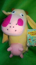 BRAND NEW JUMBO  ADORABLE COW AND CHICKEN  SO CUTE  SOFT CUDDLY TOY