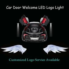 2x Angel Wings Logo Car Door Welcome Laser Projector Ghost Shadow CREE LED Light